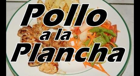 Pollo a la Plancha jugoso con POCAS CALORIAS!!!