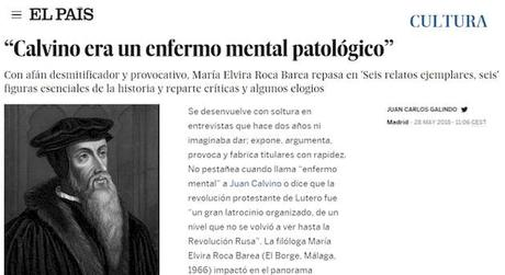 La historiadora española que odia a los protestantes: Elvira Roca