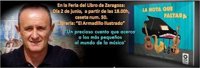 De nuevo una firma: 2 de junio en Zaragoza