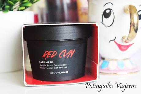 Mascarilla Red Clay, la mascarilla roja de Fancy Hancy
