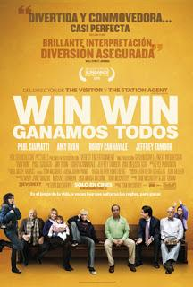 WIN WIN, GANAMOS TODOS (USA, 2011) Comedia, Drama, Deportivo