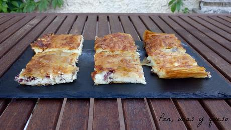 Costrada de queso y cecina (tradicional o Thermomix)