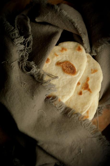 Pan naan sencillo y tierno #Asaltablogs