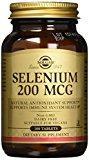 Solgar - 200 de selenio mcg. -Tabletas 100