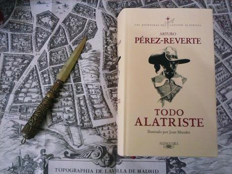 TODO ALATRISTE: ¡La edición de lujo del capitán más osado y valiente de nuestra literatura!