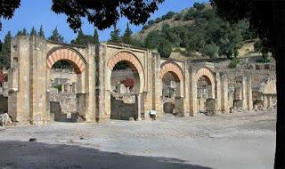 Pórtico, Conjunto Arqueológico Madinat Al-Zahra