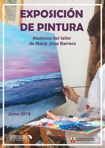 Exposición de pintura: Alumnos del taller de María José Barrera