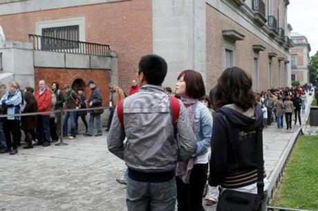 Turistas internacionales (Foto Moncloa)