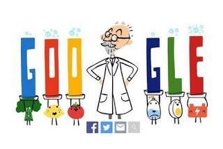 Google dedica un doodle al creador de la escala pH.