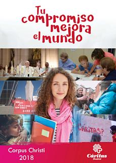 Actividades de Cáritas Parroquial de Almadén del Corpus 2018