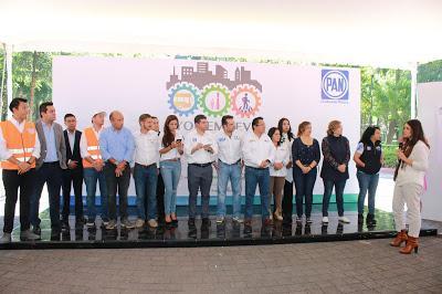 Suscriben Candidatos Locales del PANCDMX Agenda de Movilidad 'Yo Me Muevo'