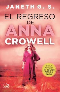 Reseña: El regreso de Anna Crowell - Janeth G.S.