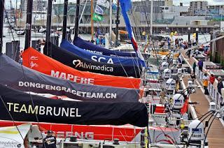 El barco Mapfre pierde la 9ª etapa y el liderato de la Volvo Ocean Race  (noticia)