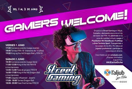 Street Gaming marca Elche en su itinerario para su próxima parada