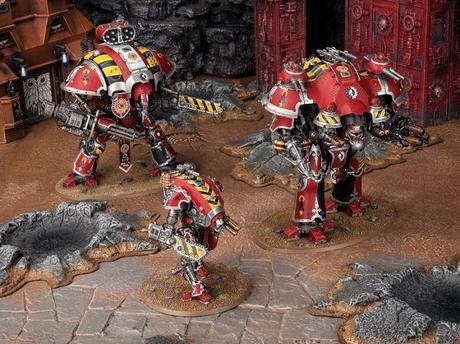 Warhammer Community hoy: Híbrido de Knight y Baneblade y mas