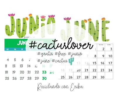 Calendario de Junio descarga gratuita