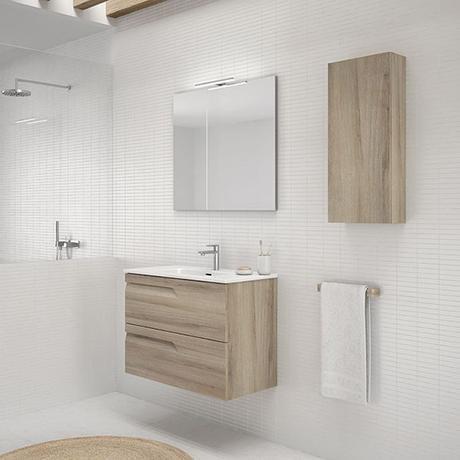 5 cambios para un baño nórdico