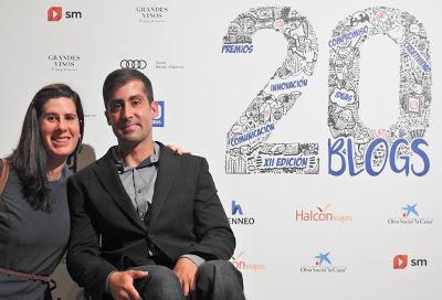 Mi victoria en la XII Edición de los Premios 20Blogs
