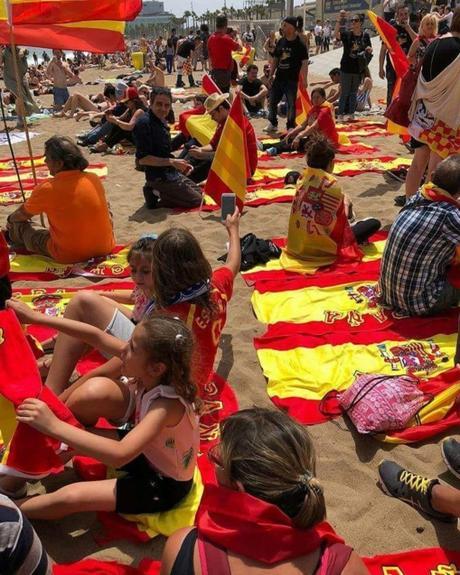 Europa empieza a descubrir que el independentismos catalán es nazi