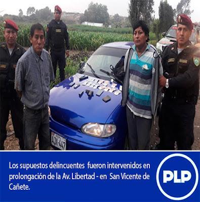 En Cañete: INTERVIENEN A SUPUESTOS LADRONES…