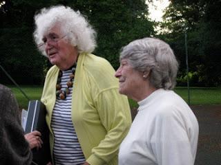 Jan Morris y su mujer Elizabeth