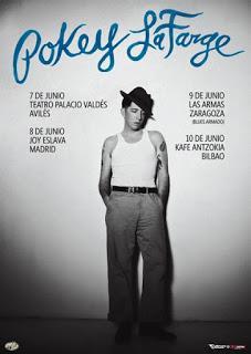 Gira de Pokey Lafarge por España en junio.