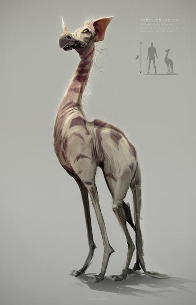 Los extraños bichos dinosauromorfos y mamiferoides de Sudhan Lakshmanan