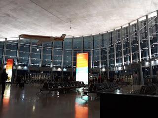 La terminal R del aeropuerto de Valencia