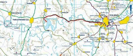 Resultado de imagen de barrancas Castrejón mapa