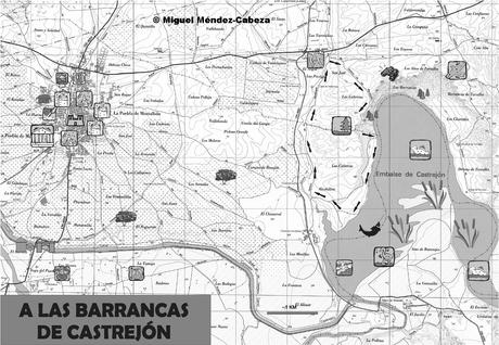 Excursión a las barrancas de Castrejón