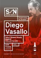 Concierto de Diego Vasallo en Nuevo Alcalá