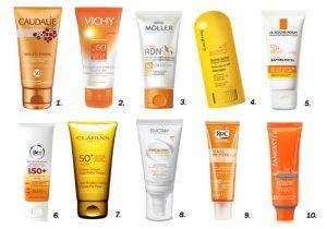 Protección solar en cuerpo y cara todo el año