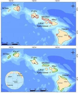 Importancia de los modelos de predicción en la restauración de poblaciones peces en los arrecifes de Hawai.