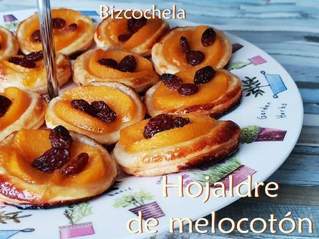 HOJALDRE DE MELOCOTÓN