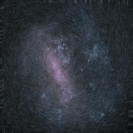 """Astrónomos encuentran una enorme """"huella dactilar cósmica"""""""
