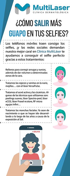 Descubre cómo salir más guapo en tus selfies