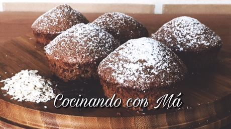 Magdalenas de Avena y Chocolate