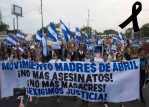 madres de abril nicaragua,movimiento 19 de abril nicaragua 2018,bloggernota.com