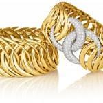 Brazalete en oro y brillantes