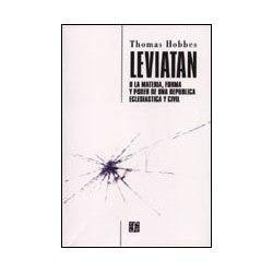 Leviatán. Thomas Hobbes. Fondo de Cultura Económica. 2004.