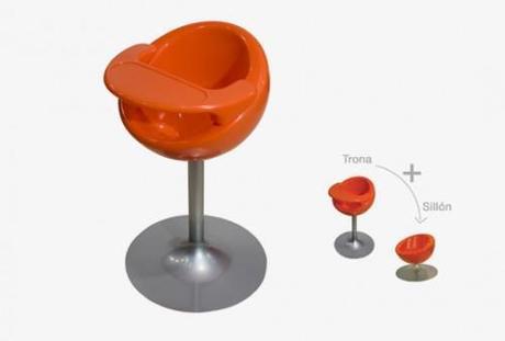 Trona y sillón Nest de Mozzee