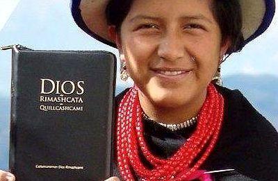 Primera traducción de la Biblia al quichua cañar de Ecuador