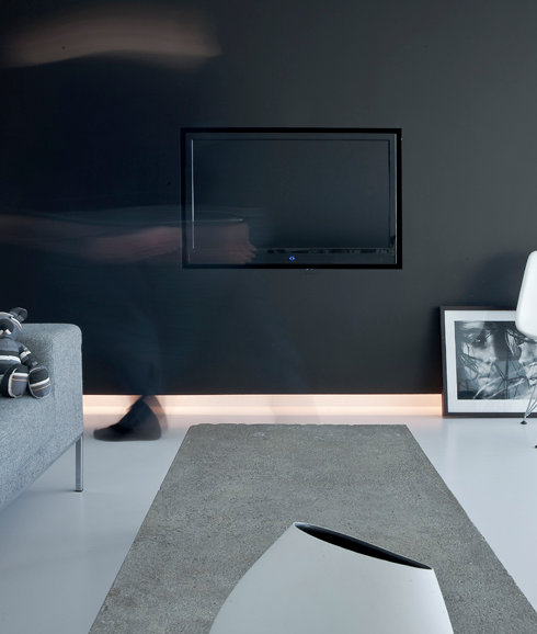 Integrar la tv en la pared paperblog - Tv en la pared ...