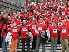 Santiago Compostela organiza marcha solidaria donación órganos
