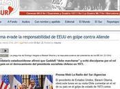 Trabajo alumnos/as: golpe Estado Pinochet caída Salvador Allende