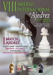 Miguel Illescas ganador del VIII Torneo Internacional Ciudad Dos Hermanas