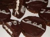 Cupcake chocolate tipo Pingüinos Marinela