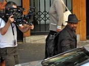 Denzel Washington, Ryan Reynolds Nora Arnezeder, fotografiados rodaje Safe House