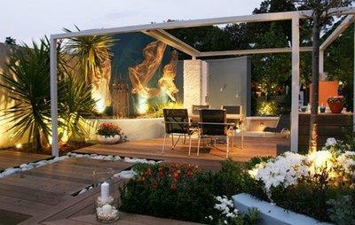 Dise o de un jard n minimalista paperblog - Estanque terraza piso ...