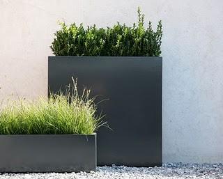 Dise o de un jard n minimalista paperblog - Macetas minimalistas ...